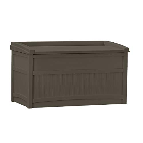 SUNCAST Medium Deck Box with 50-Gallon Capacity