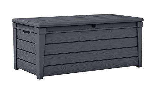 KETER BRIGHTWOOD Large 120 Gallon Deck Box