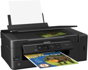 EcoTank Wireless Color All-in-One printer