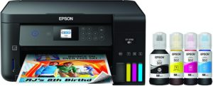 Wireless Color All In One Printers For Home Use, Cartridge-Free Supertank Printer