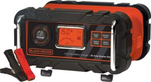 Automatic 15 Amp 12V Bench Battery Charger