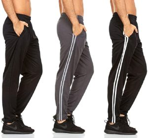 Mens Active Pants with Pockets