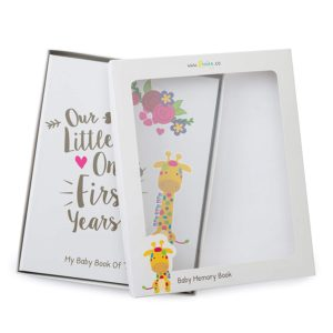Ronica First Year Baby Memory Book