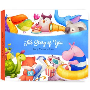 Baby Memory Book for Girls