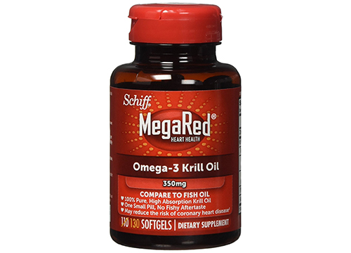 MegaRed 350mg Omega-3 Krill Oil, 130 softgels