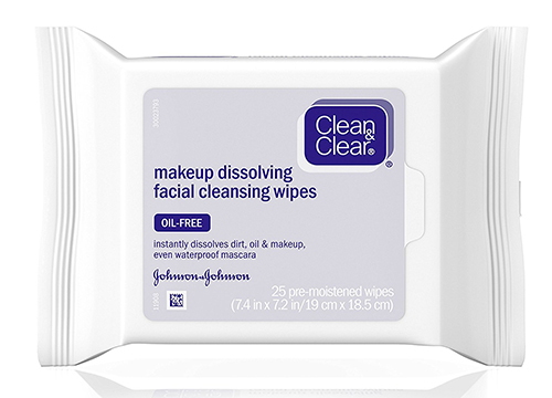 Clean & Clear Oil-Free Makeup Dissolving Facial Wipes