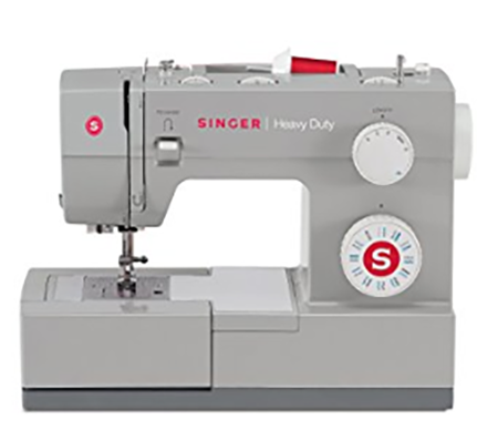 #3. SINGER 4423 Heavy Duty Extra-High Sewing Speed Sewing Machine with Metal Frame and Stainless Steel Bedplate