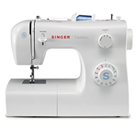 #5. SINGER 2259 Tradition Easy-to-Use Free-Arm 19-Stitch Sewing Machine