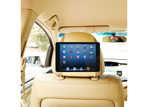 TFY Car Headrest Mount Holder: Fast attach and Release Edition