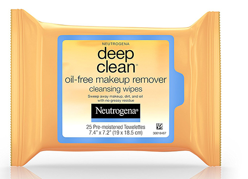 Neutrogena Deep Clean Oil-Free Makeup Remover Wipes