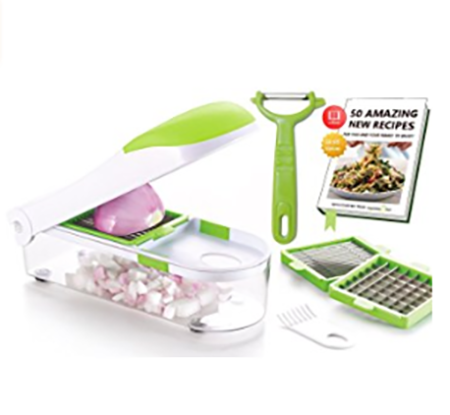 #5. Vegetable's Chef - Onion, Vegetable, Fruit and Cheese Chopper