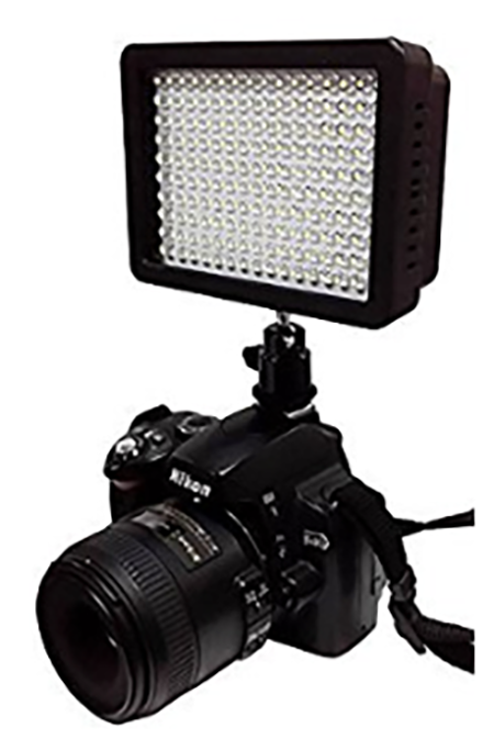 #5. Julius Studio 160 LED Light with 4 Color Filters for Digital Camera
