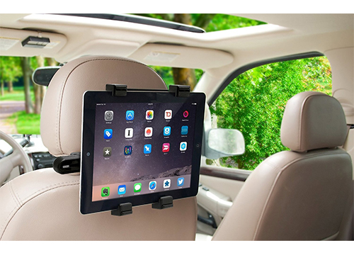 Okra 360° Degree Adjustable Rotating Headrest Car Seat Mount Holder For iPad