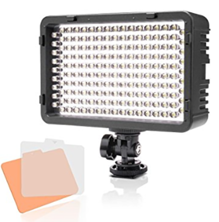#7. Selens 168 LED Dimmable Ultra High Power Light