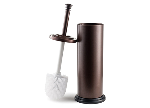 Estilo, Stainless Steel Toilet Brush and Holder