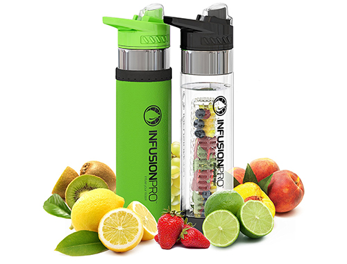 Infusion Pro Premium Fruit Infuser Water Bottle