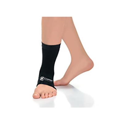 #5. Copper Compression Recovery Ankle Sleeve