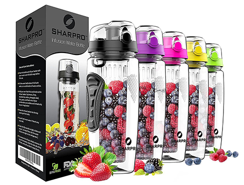 Sharpro Infuser Water Bottles