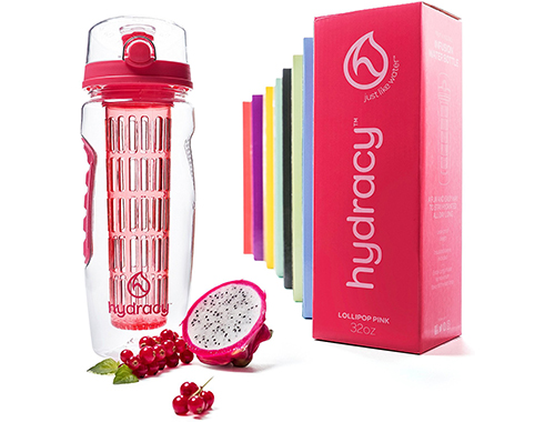 Hydracy 32 OZ Fruit Infuser Water Bottle