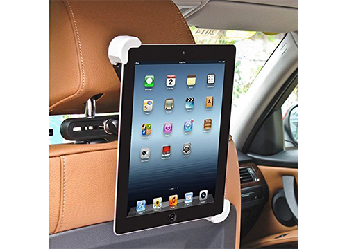 BESTEK 360 Degree Rotatable Car Headrest Mount Car Tablet Holder