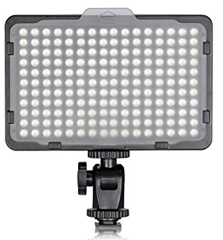 #10. TOLIFO Photo Studio 176 LED Ultra Bright Dimmable On Camera Video Light