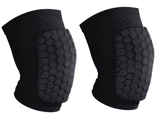 YF-36 Protective Compression Anti-slip Knee Short Sleeve Pad
