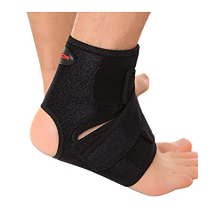 #8. Liomor Ankle Support Breathable Ankle Brace