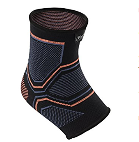#3. Kunto Fitness Ankle Brace Compression Support Sleeve