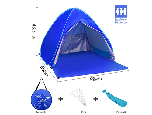 BATTOP Automatic Pop up Beach Tent