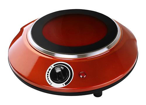 Techwood ES-3113C 1000W Countertop Burner, Portable Infrared Cooktop