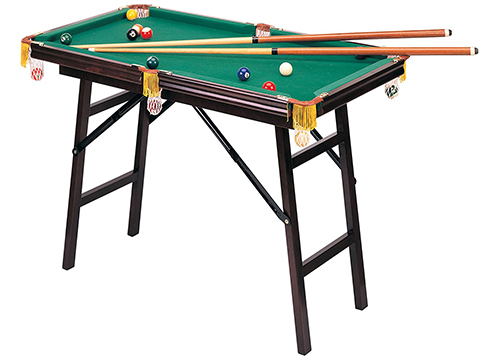 CHH QUALITY PRODUCTS INC Mini Folding Pool Table