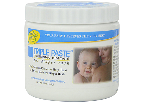Triple Paste Medicated Ointment for Diaper Rash, 16-Ounce: