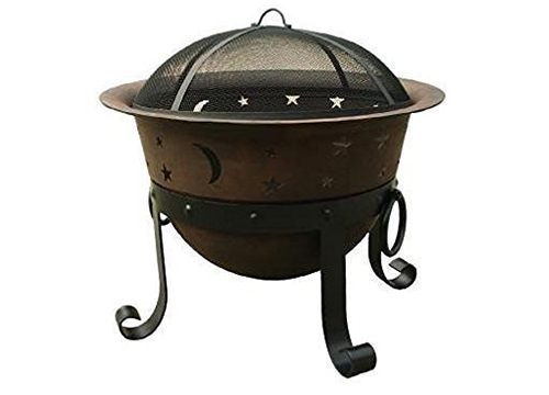 Catalina creations heavy duty cast iron fire pit
