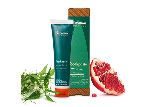 Neem and Pomegranate Fluoride-Free Toothpaste
