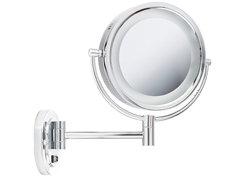 JERDON MAKEUP MIRROR WITH LIGHT BULBS