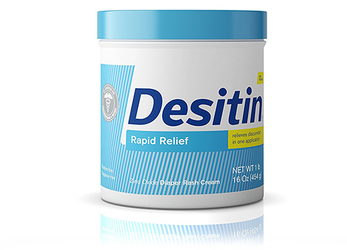 Desitin Rapid Relief Diaper Rash Remedy Fragrance-Free Cream, 16 Oz. :