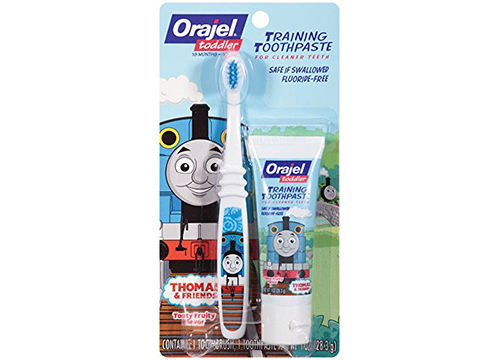 Orajel Thomas and Friends Fluoride-Free Training Toothpaste