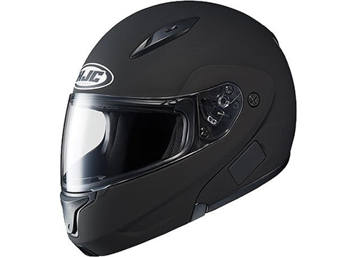 HJC Solid Men's CL-MAX II Bluetooth Sports Bike Motorcycle Helmet: