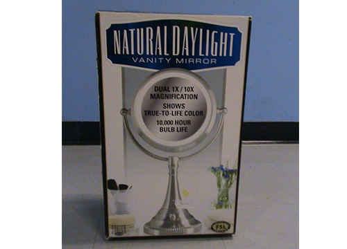 SUNTER NATURAL DAYLIGHT MAKEUP MIRROR