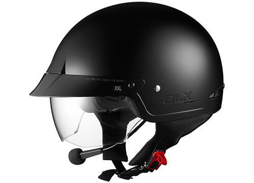 Sniper Tuning M14 Bluetooth Half Helmet with Retractable Shield: