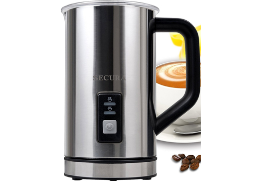 Secura Automatic Electric Milk Frother and Warmer 250ml: