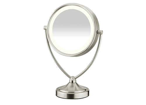 CONAIR ROUND MAKEUP MIRROR WITH LIGHTS
