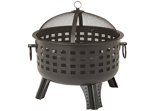 Amazonbasics Steel Lattice fire pit 23 and ½ inch