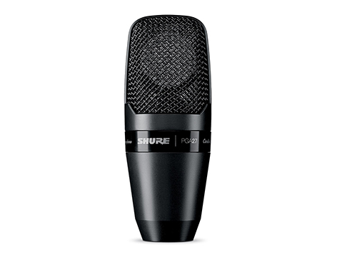 Shure PGA27-LC Large-Diaphragm Side-Address Cardioid Condenser Microphone