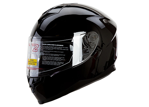 IV2 Elite: FALCON 967 Series - Bluetooth Compatible High Performance, Dual Visor, Full Face, Street Bike Motorcycle Helmet: