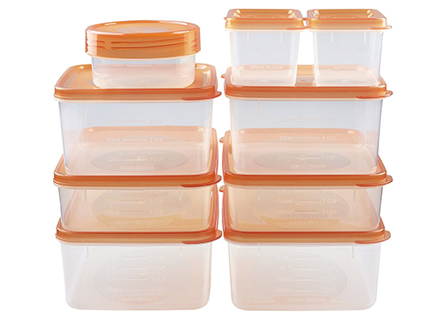 hölm BPA Free Reusable Square Food Storage Containers with Lids