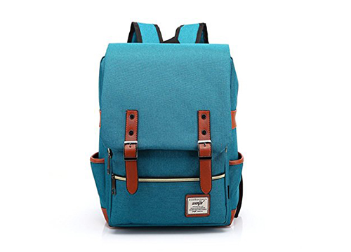 Norble British Style Casual Unisex Waterproof Oxford School Backpack College Rucksack: