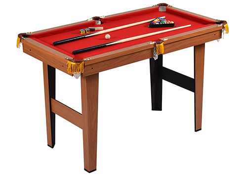 Goplus 48-Inch Mini Tabletop Pool Table Game Billiard Set Bank Shot w/ Cues Balls
