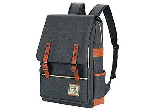 CYREC Vintage Canvas Backpack: