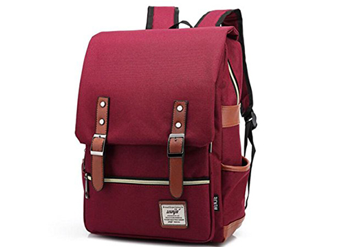 LNSEA Casual Lightweight College Backpack Laptop Book School Travel Bag Daypack: